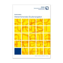 Info Weiterführende Studiengänge (Artikelnr.: osfal20)